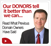 Donate Domain Name Donors